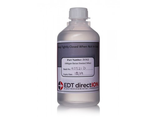 Barium 1000ppm Standard Solution 500ml